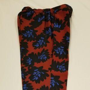 Jcrew Floral Crop Pants